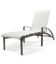 Brown Jordan Pasadena Stacking Adjustable Sling Chaise