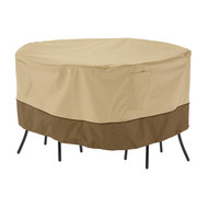 Round Bistro Table and Chair Cover - Small