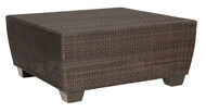 Woodard Saddleback Large  Square Coffee Table