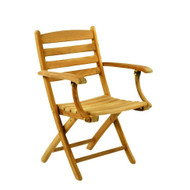 Kingsley Bate  Replacement Cushion for Gearhart Folding Dining Arm Chair (GT15)