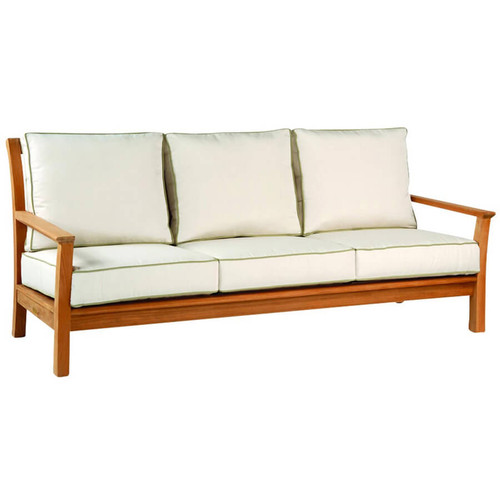 Kingsley Bate Chelsea Sofa - Classic Outdoor Teak Sofa with Cushions