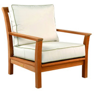 Kingsley Bate Chelsea Lounge Chair - Teak Patio Lounge Chair