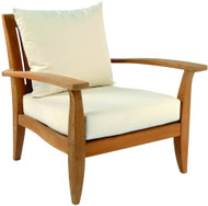 Kingsley Bate Ipanema Modern Teak Patio Lounge Chair