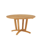 "Furniture Cover for Kingsley Bate Amalfi 50""-52"" Round Dining Table (AM50) with Four Chairs"