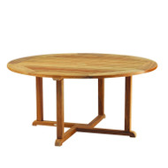 """Furniture Cover for Kingsley Bate Essex 50""""-52"""" Round Dining Table with Five-Six Chairs"""