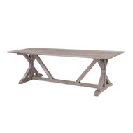 """Furniture Cover for Kingsley Bate Provence 73"""" Rectangular Dining Table (PV73) with Four-Six Chairs"""