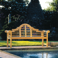 Kingsley Bate Replacement Cushion for Lutyens 6' Bench (LT60)