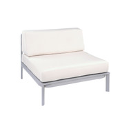 Kingsley Bate Replacement Cushions for Naples Sectional Armless Chair (NP35)