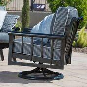 Woodard Rhyss Swivel Rocking Lounge Chair