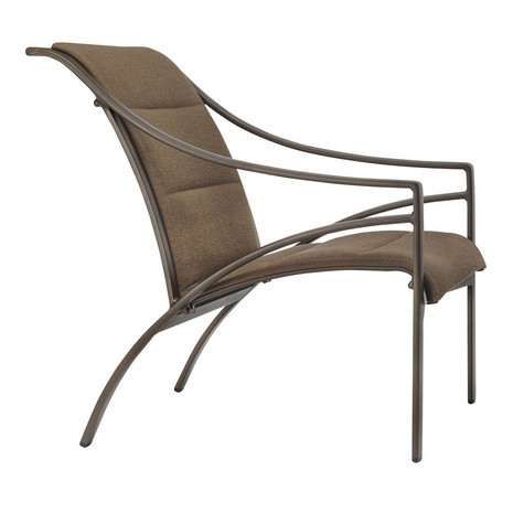Terrific Brown Jordan Pasadena Padded Sling Lounge Chair Machost Co Dining Chair Design Ideas Machostcouk