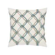 Aqua Rope Pillow