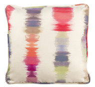 "Woodard 20"" Square Throw Pillow With Faux Down Fill"