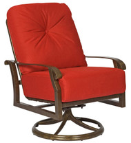 Woodard Cortland Extra Large Swivel Rocker