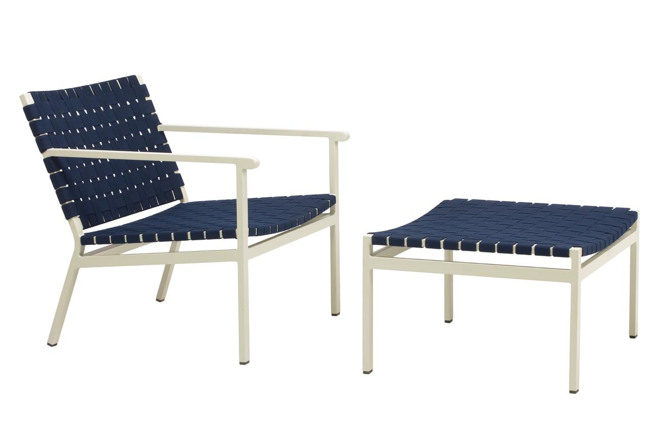 Enjoyable Brown Jordan Flex Suncloth Strap Lounge Chair Evergreenethics Interior Chair Design Evergreenethicsorg