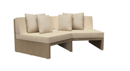 Brown Jordan Elements Sectional Angled Corner