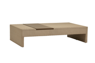 Brown Jordan Elements Woven Coffee Table