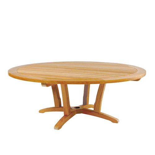 """Kingsley Bate 55"""" Outdoor Teak Chat Table"""
