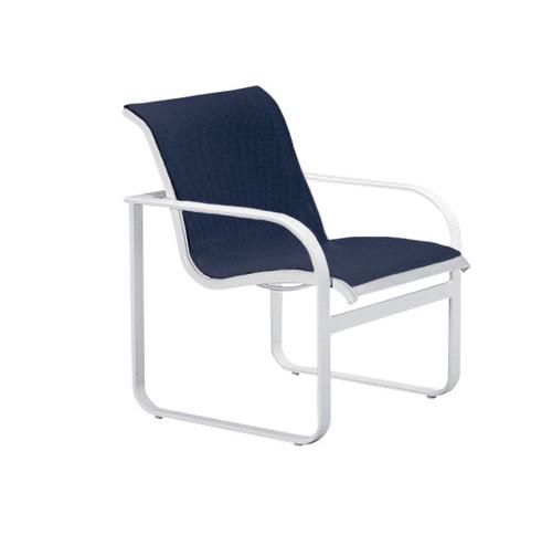 Brown Jordan Quantum Dining Arm Chair Into The Garden