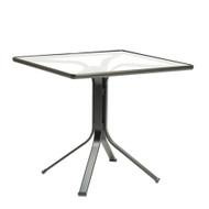 """Brown Jordan Quantum 32"""" Square Pedestal Dining Table"""