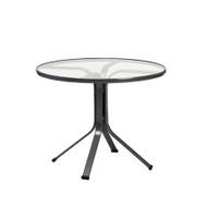 "Brown Jordan Quantum 30"" Round Pedestal Dining Table"