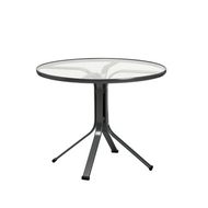 "Brown Jordan Quantum 36"" Round Pedestal Dining Table"