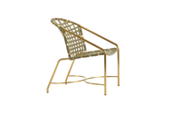 Brown Jordan Kantan Brass Arm Chair
