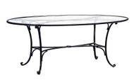 "Brown Jordan Roma 86"" Oval Dining Table"
