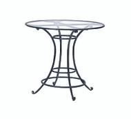 "Brown Jordan Roma 42"" Round Bar Table"
