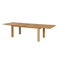 "Kingsley Bate Hyannis Teak 118"" Rectangular Extension Table"