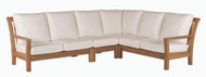 Consists of one Left Arm Love Seat, one Right Arm Love Seat, one Corner Chair and one Armless Chair.