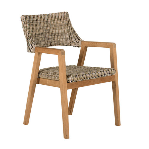 Kingsley Bate Spencer Dining Arm Chair Into The Garden