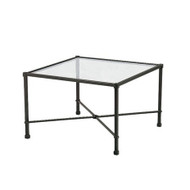 "Brown Jordan Venetian 26"" Square Corner Table"