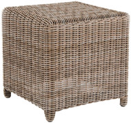 Kingsley Bate Sag Harbor Wicker Side Table/Stool
