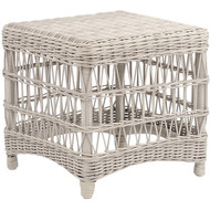 Kingsley Bate Southampton Classic Wicker Side Table