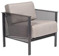 Woodard Jax Modern Mesh Outdoor Lounge Chair