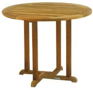 """Kingsley Bate Essex Teak 36"""" Round Dining Table"""