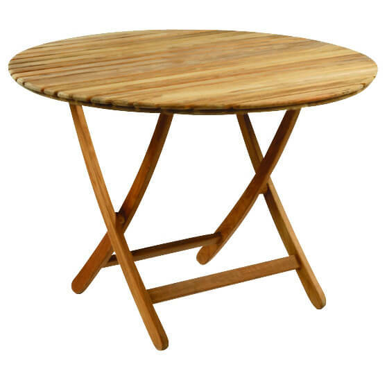 Kingsley Bate Newport 42 Round Dining Table