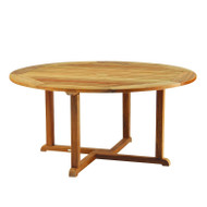 "Kingsley Bate Essex Teak 50"" Round Dining Table"