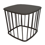 "Brown Jordan Cove 18"" Square Aluminum Table"