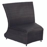 Woodard Martine Curved Chair & a Half