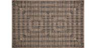Isle Collection Brown / Black Rug