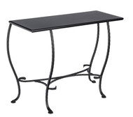 Woodard Iron Console Table