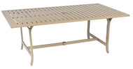 Woodard Seal Cove Rectangular Dining Umbrella Table