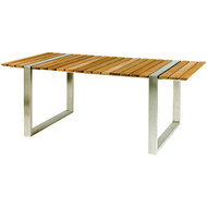 Kingsley Bate Boca Three Piece Table and Bench Set