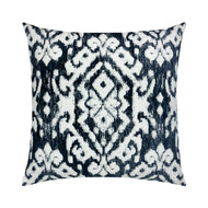 Bakhmal Indigo Pillow