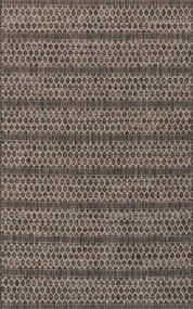 Isle Collection Black/Grey Rug