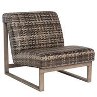 Woodard Reunion Armless Lounge Chair