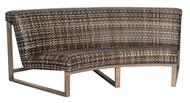 Woodard Reunion Curved Sofa
