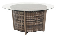 Woodard Reunion Chat Height Round Coffee Table