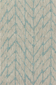 Isle Collection Mist/Aqua Rug
